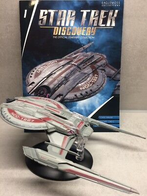 Star Trek Discovery Starships Collection Eaglemoss U.S.S. Shenzhou NCC-1227 engl