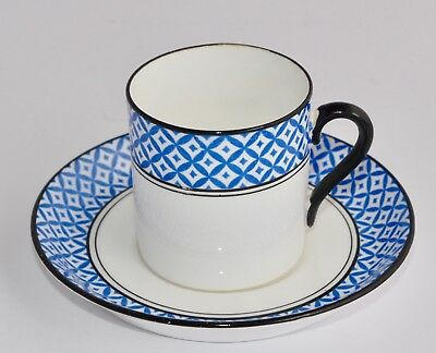 Vintage Tuscan Demitasse Coffee Can & Saucer #7981, Art Deco Multiple Avail