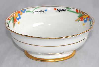 Art Deco Hand Painted Vintage Paragon Open Sugar Bowl - F1321 Rd No 744170