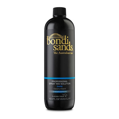 Bondi Sands Professional Spray Tanning Solution Tan Mist 500ml Dark