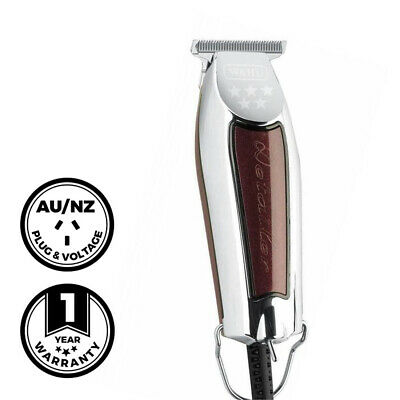 Wahl Professional Detailer T-Wide Trimmer Clipper Barber Hair Beard Tool Shaver