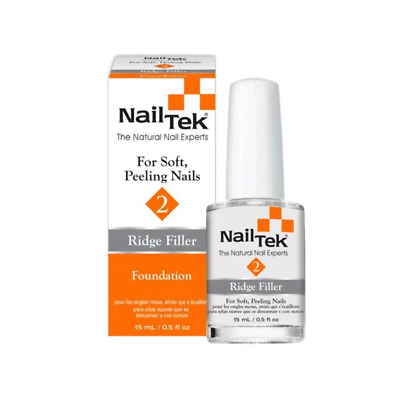 Nail Tek Foundation 2 - Ridge Filler for Soft, Peeling Nails (15ml)