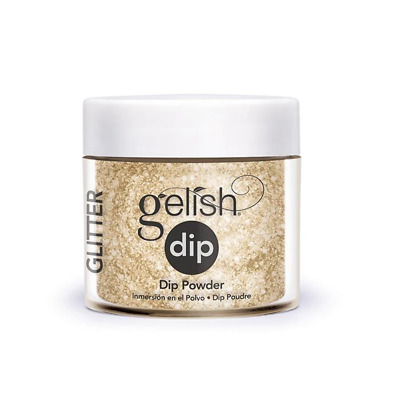 Gelish Dip SNS Dipping Powder All That Glitters Is Gold 23g Nail System