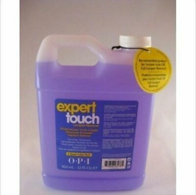 OPI Expert Touch Nail Polish Lacquer Enamel Varnish Remover 960ml Acetone