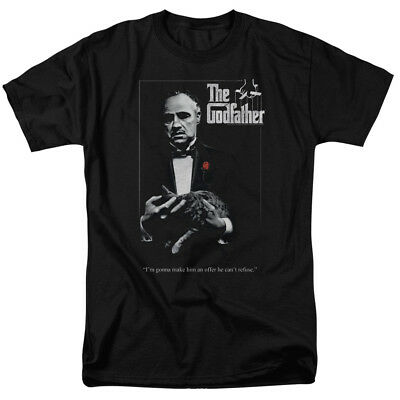 Godfather Poster T-shirts for Men Women or Kids