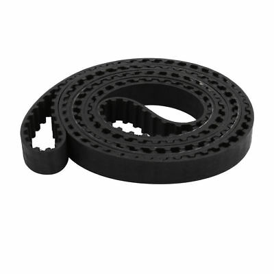 Timing Belt for Stepper Motor 282 Teeth 10mm Width 5.08mm Pitch Rubber Black