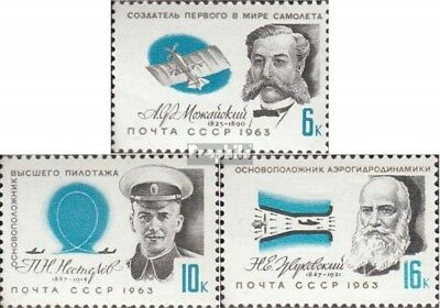Soviet-Union 2794-2796 (complete issue) used 1963 Pioneers the