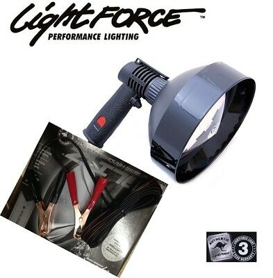Lightforce 170 Striker Handheld 12v 100w halogen Spotlights 12V Alligator Clip S