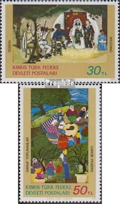 Turkish-Cyprus 120-121 (complete issue) unmounted mint / never hinged 1982 Paint