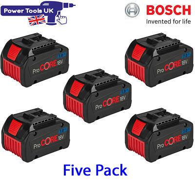 bosch five pack gba 18v 7 0ah procore li ion cool pack battery 1600a013h1 picclick uk. Black Bedroom Furniture Sets. Home Design Ideas