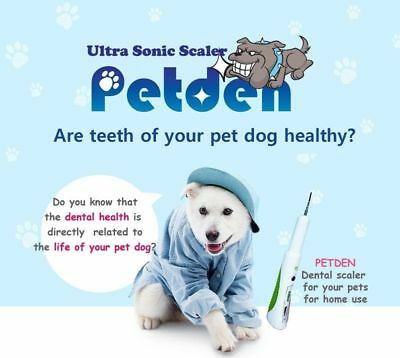 D?artreur ?ultrasons PETDEN Dogs and Cats Sant?dentaire Portable Pet Supply_NV