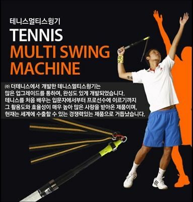 Tennis swing machine Training Tool Technic Speed Power impact Point Racket_NV