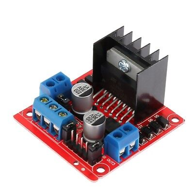 Dual H Bridge DC Stepper Motor Drive Controller Board Module for Arduino L298N