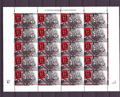 Poland Polen 2005 sheet MNH** 60th anniversary of ending of the II World War