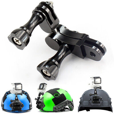 360° Ball Joint Buckle Stand Mount Adapter for GoPro hero6/5/4CNC Camera Black