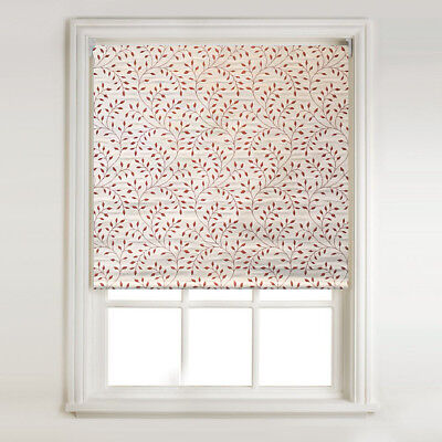 Ivory Faux Silk Thermal Blackout Roller Blind FREE CUT TO SIZE SERVICE