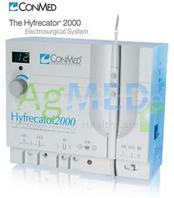 RADIO-SURGICAL CONMED electrosurgical units Hyfrecator 2000 SOLID' WITH