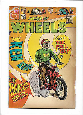 "World Of Wheels #30  [1970 Gd]  ""the Fall Guy"""