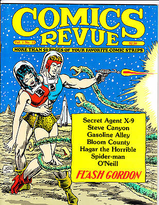 "Comics Revue Vol 1 No 13-1985-Strip Reprints- ""Flash Gordon Cover!  """