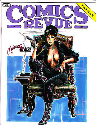 "Comics Revue No 44-1990-Strip Reprints- ""Modesty Blaise Cover!  """