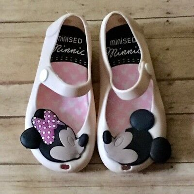 1c51d709656b6 miniSED Jelly Shoes Mickey   Minnie Mouse Sandals Kids Toddler mini melissa  rema