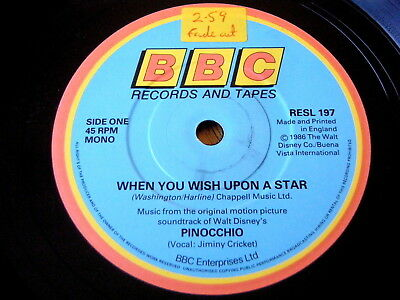 Pinocchio When You Wish Upon A Star Sheet Music 500