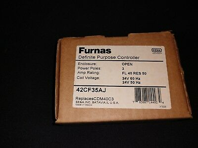 Furnas 42CF35AJ Definite Purpose Magnetic Contactor NEW