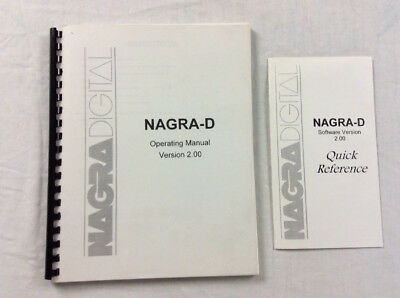 Nagra D Operating Manual Version 2.0