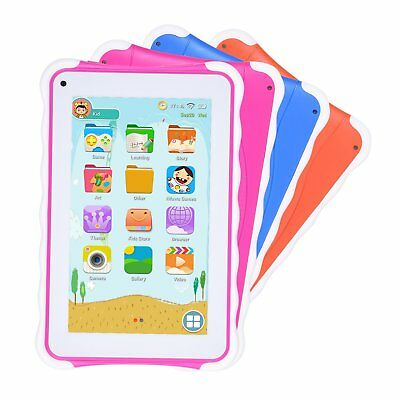 XGODY 7'' HD inch Kids Tablet PC Android 4.4 Quad Core 8GB Webcam Bluetooth WIFI