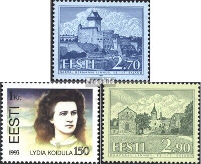 Estonia 218,219,220 (complete issue) unmounted mint / never hinged 1993 special