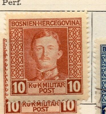 Bosnia Herzegovina 1917 Early Issue Fine Mint Hinged 10h. 248690