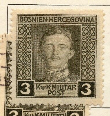 Bosnia Herzegovina 1917 Early Issue Fine Mint Hinged 3h. 248688