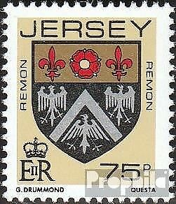 united kingdom-Jersey 408 (complete issue) used 1987 Crest