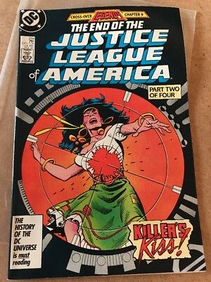 #259 - The End Of The JUSTICE LEAGUE Of AMERICA - Killer's Kiss! - DC 1987