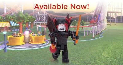 ROBLOX Hunted Vampire Pack Toy Figure - NEW Sealed w/Exclusive Virtual Game Code