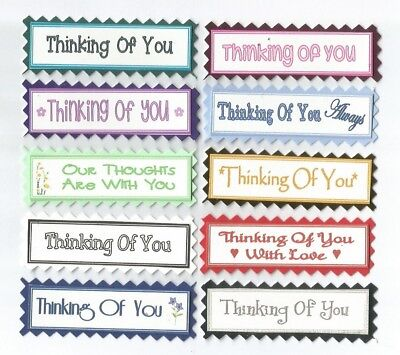10 thinking of you greeting card craft scrapbook sentiment message 10 thinking of you greeting card craft scrapbook sentiment message banner tags m4hsunfo