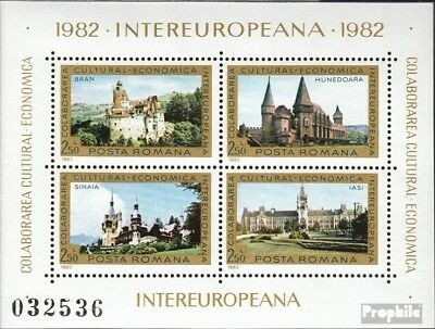 Romania Block186 (complete issue) unmounted mint / never hinged 1982 INTEREUROPA