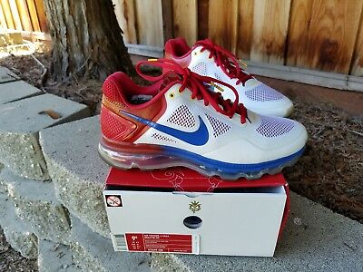 7c44fee38057 NIKE AIR TRAINER 1.3 Max Breathe Mp Manny Pacquiao Sz 9.5 -  100.99 ...