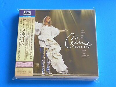 2018 JAPAN TOUR EDITION CELINE DION THE BEST SO FAR w/BONUS TRACK BLU SPEC CD