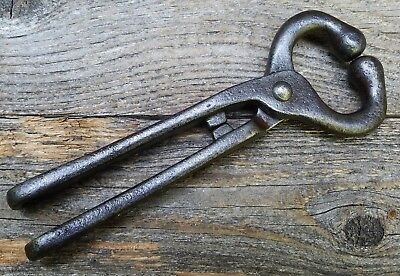 Vintage Bull Nose Ring Pliers - Old Farm or Homestead Tool