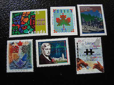 CANADA - stamp - yvert and tellier N° 1462 1468 1469 1475 1486 1487 n (A3)