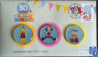 2016 50 Years Of Play School 3 Medallion Set Cover