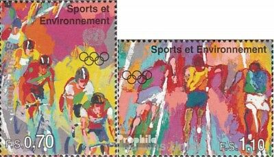 UN-Geneva 297-298 (complete issue) unmounted mint / never hinged 1996 Sports and