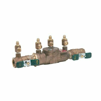 WATTS 3/4 Inch Lead Free Double Check Valve Irrigation Water Backflow Preventer