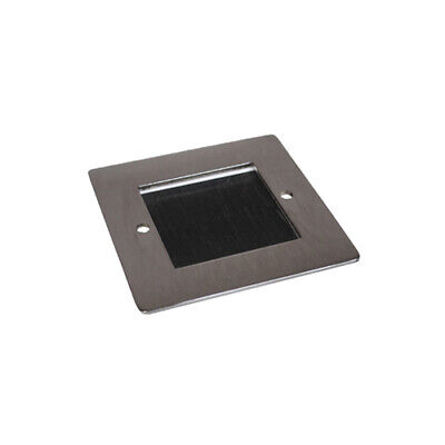 PV-50X50-BRUSHPolished Chrome Plate Cut 50x50 with Brushes