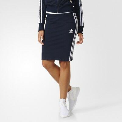 d823493ba ADIDAS ORIGINALS 3 STRIPES MINI SKIRT SIZE UK 8,10,12,14,16 Trefoil ...