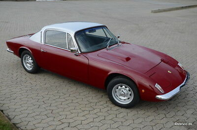 1968 Lotus Elan+2 Coupe In White * All Lotus Models Required In Any Condition *