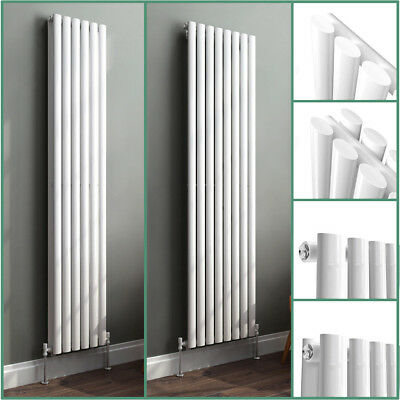 Vertical Tall Upright Designer Radiator Oval Column Central Heating Radiators