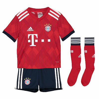 Official Bayern Munich Home Mini Kit 2018-19 Football adidas Kids
