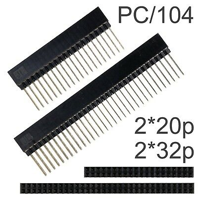PC/104 40 / 60 Way 2*20 / 2*32 Stackable Pin Headers Double Row PC104